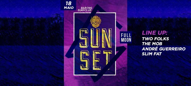 Sunset Barong Full Moon
